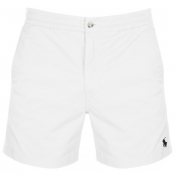 Ralph Lauren Classic Fit Shorts White